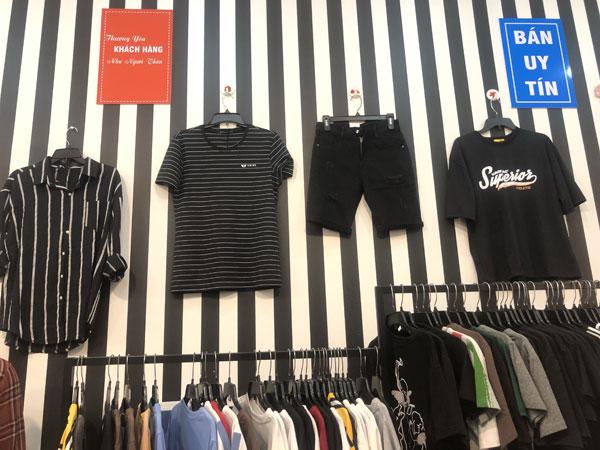 Sang shop thời trang Nam mặt tiền