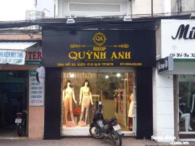 Sang shop quần áo nữ quận 10