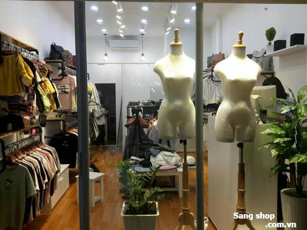 Sang mặt bằng shop đường Trần Quang Diệu