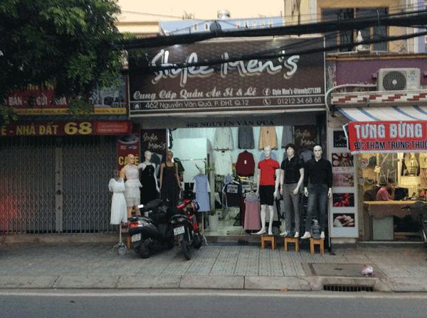 Sang shop thời trang quần áo Quận 12