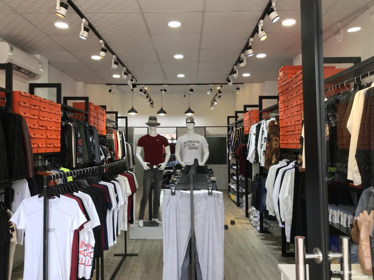 Sang shop thời trang nam đường Âu Cơ