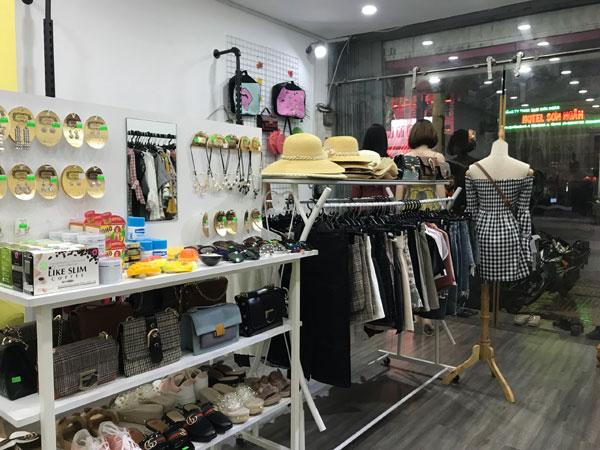 Sang gấp shop thời trang nữ