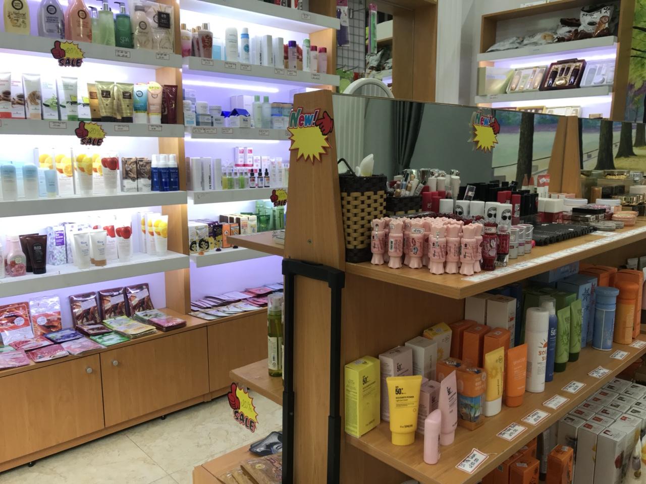 Sang gấp shop mỹ phẩm Hàn Quốc