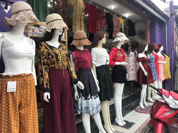 Sang shop thời trang nữ và mỹ phẩm hang thái