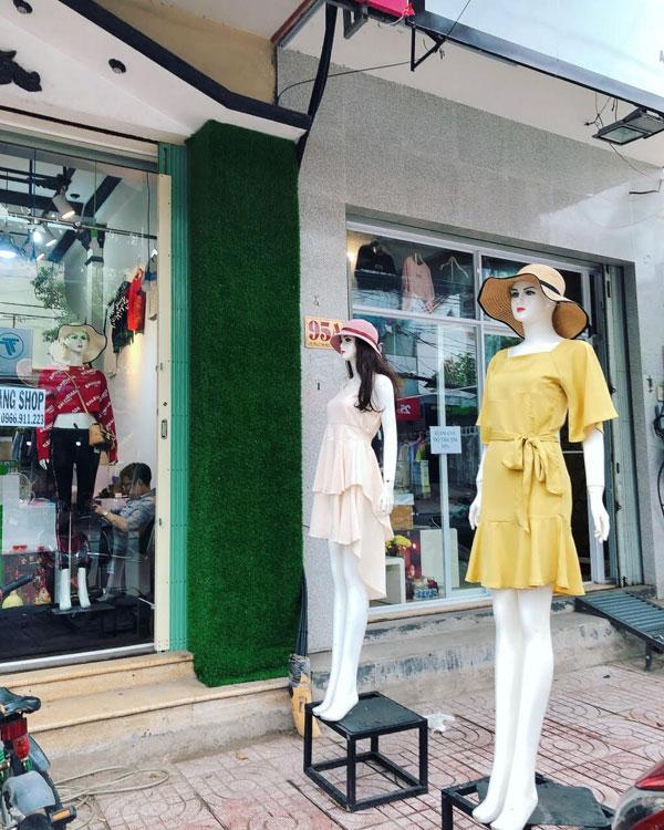 Sang Shop Thời Trang mặt bằng đẹp