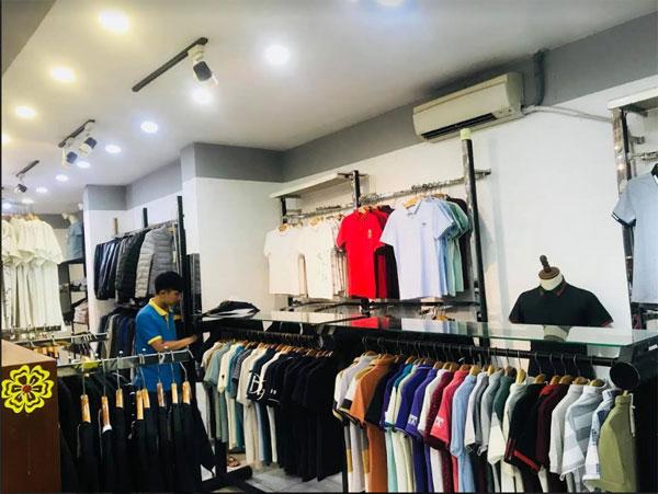 Sang shop thời trang Nam T - Men mặt tiền Quang Trung