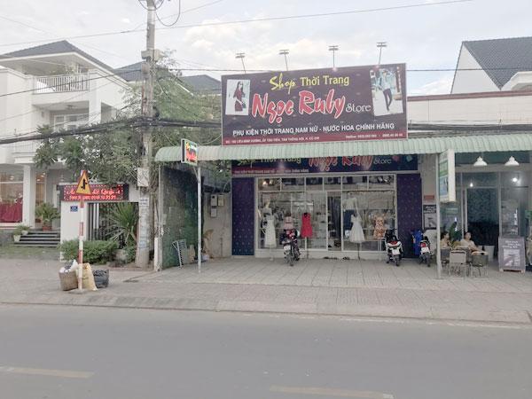 Sang shop thời trang Củ Chi - ngay Chợ Việt Kiều