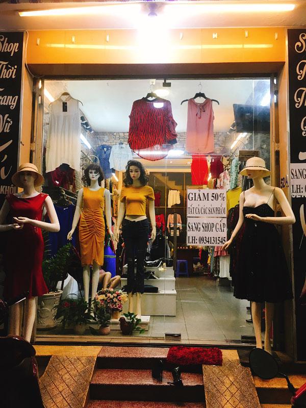 Sang shop thời trang nữ quận Tân Phú