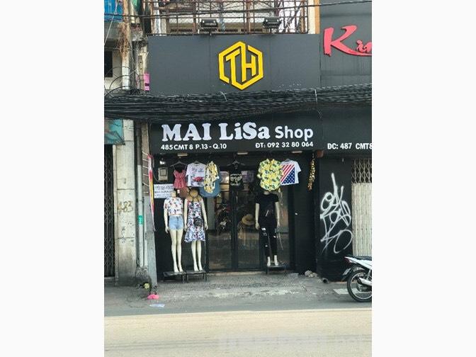 Sang shop thời trang decor đẹp đường CMT 8