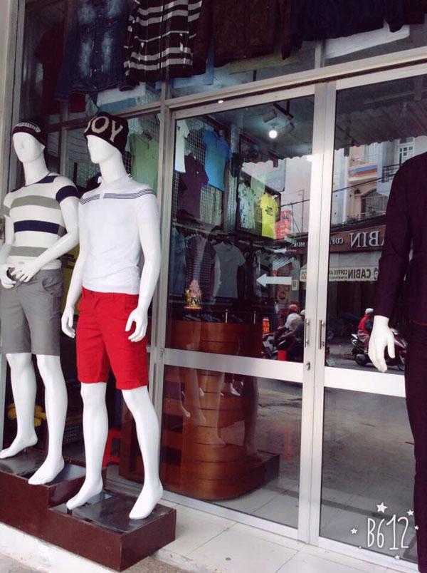 sang nhượng toàn bộ shop thời trang nam cao cấp