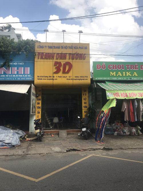 Sang shop giấy dán tường hoặc sang mặt bằng