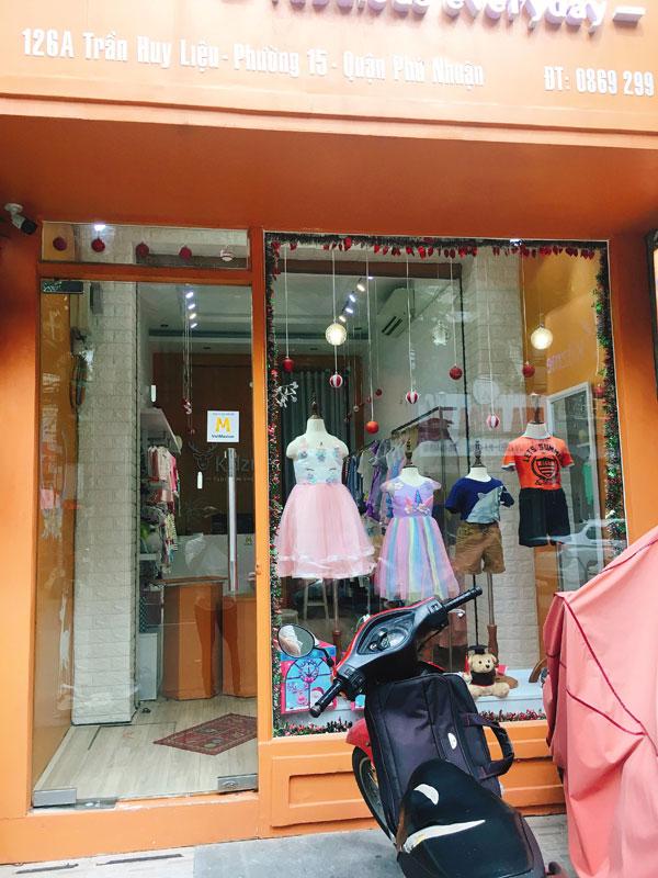 Sang toàn bộ shop thời trang hoặc sang mặt bằng