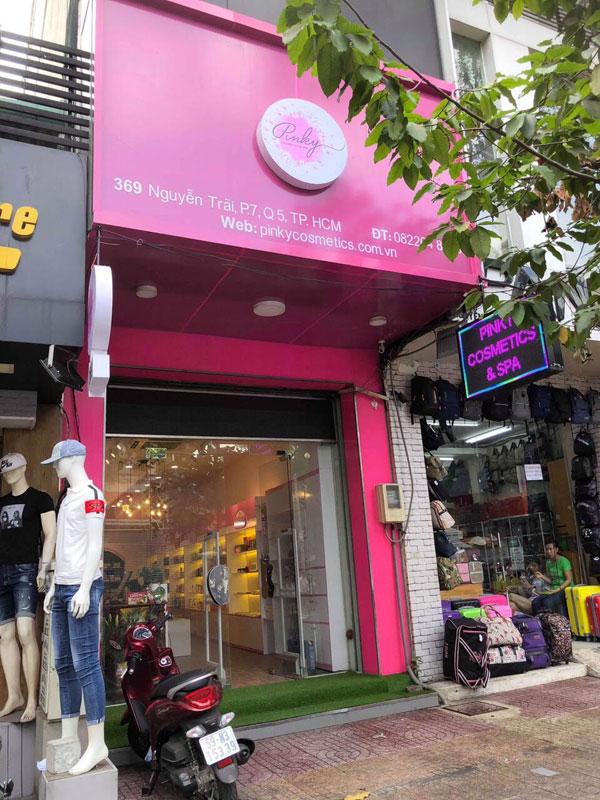 Sang nhanh shop mỹ phẩm mặt tền Nguyễn Trãi