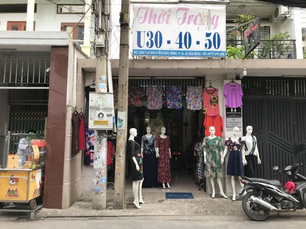 Cần sang nhượng shop thời trang hoặc mặt bằng kinh doanh lâu năm