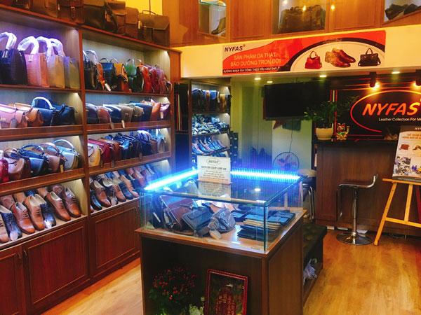 Sang shop chuyên bán túi xách, giày da, thắt lưng, bóp ví