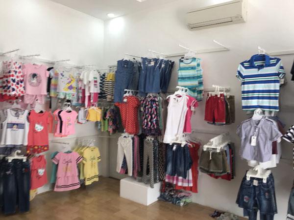 Sang gấp shop thời trang trẻ em gần siêu thị Điện Máy Chớ Lớn