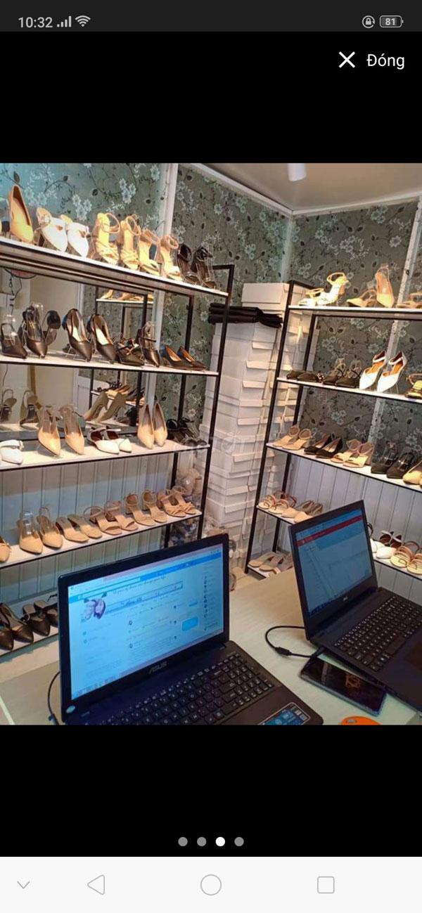 Cần sang nhượng shop giày mới 100%