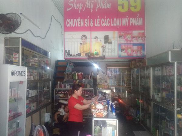 Sang shop mỹ phẩm kinh doanh lâu năm