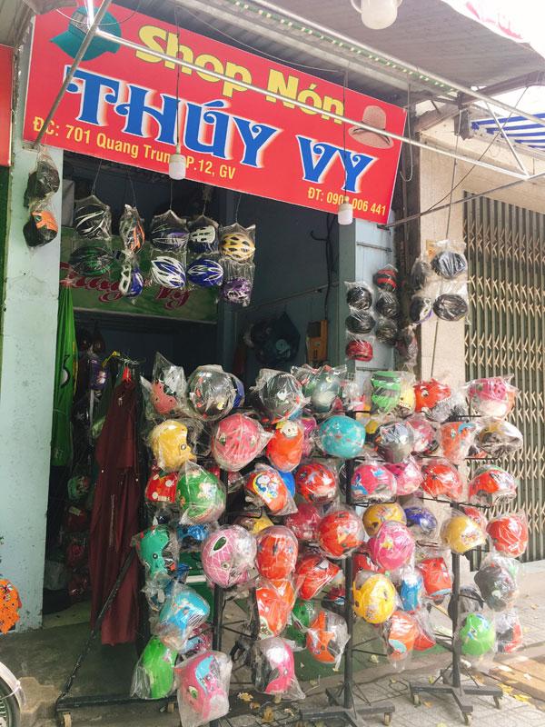 Sang Shop Nón Bảo Hiểm doanh thu tốt.
