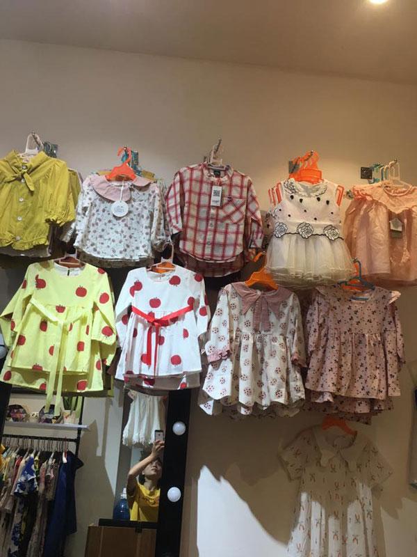 Sang nhượng Shop Thời Trang Nữ, Trẻ Em