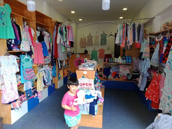 Cần sang lại shop thời trang quần áo trẻ em VNXK