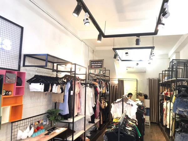 Sang Shop thời trang ngay trung tâm quận 3