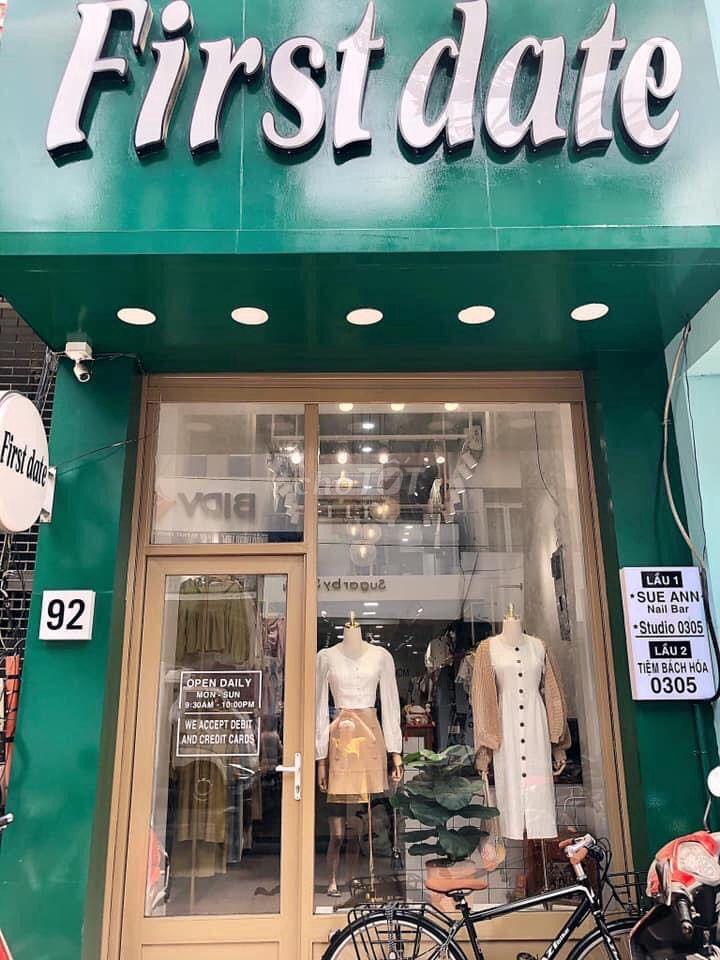 Sang shop mặt tiền khu trung tâm thời trang