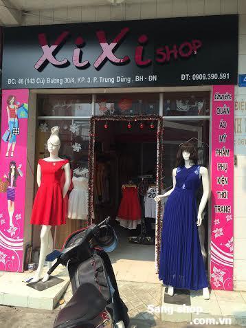 cần sang lại shop chuyên bán quần áo nữ