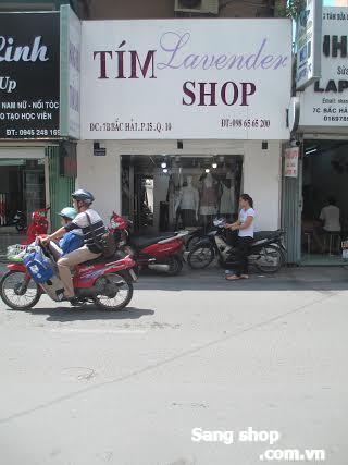 Cần sang lại Shop Thời Trang đường Bắc Hải