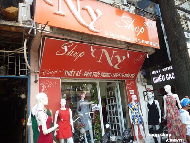 cần sang lại shop thời trang nữ đang hoạt động