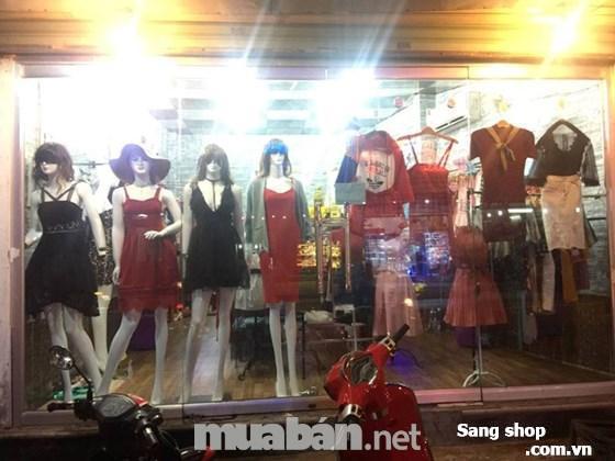 Cần sang lại shop thời trang nữ Quận Thủ Đức