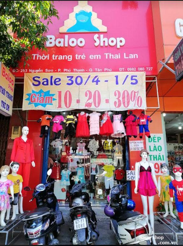 Cần sang lại shop thời trang trẻ em