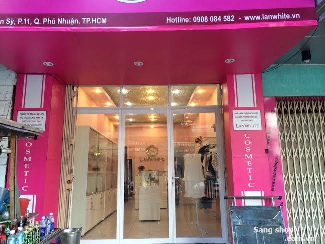 Cần sang nhượng  mặt bằng Shop Thời Trang đẹp Q. Phú Nhuận
