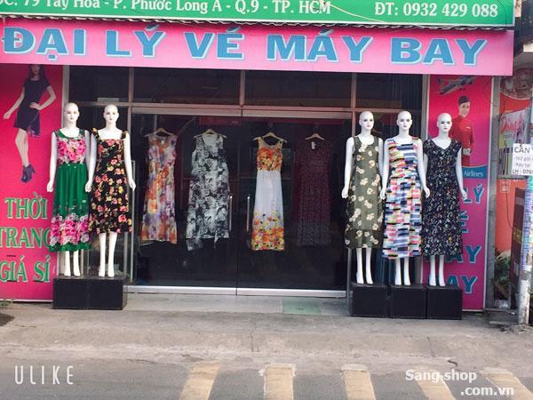 Cần sang nhượng shop thời trang nữ mặt tiền