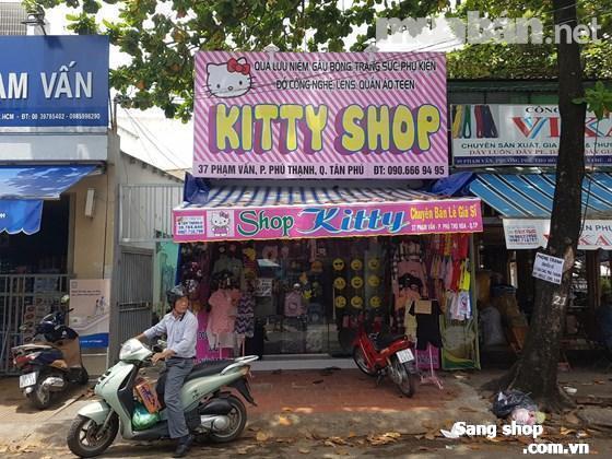 Sang shop quà lưu niệm, mỹ phẩm quận Tân Phú