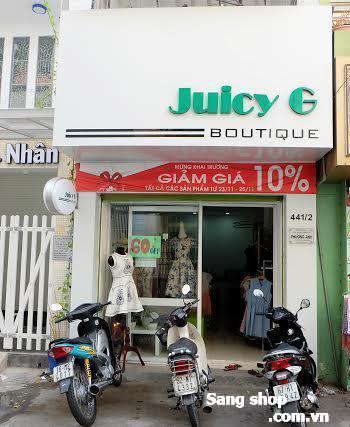 Cần sang shop quần áo đường Nguyễn Đình Chiểu