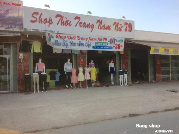 Cần Sang Shop Quần Áo Nam Nữ, không người trông coi