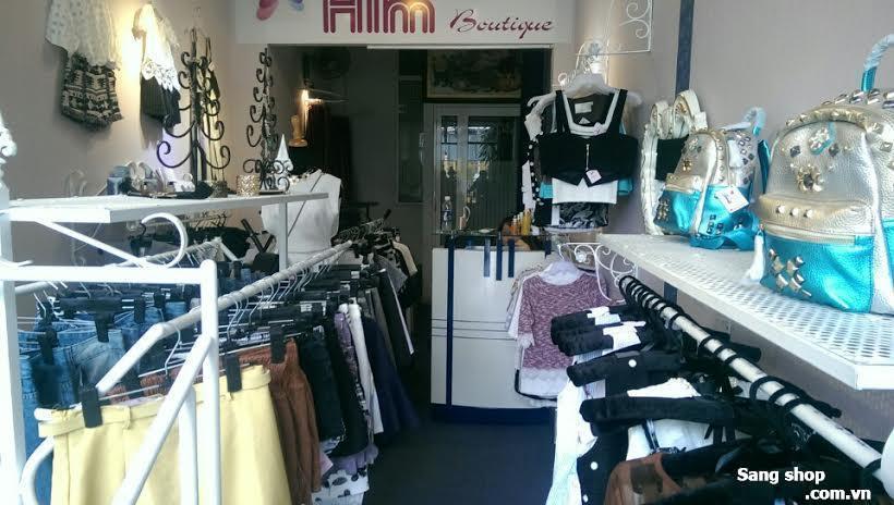 Cần sang shop quần áo quận Phú Nhuận