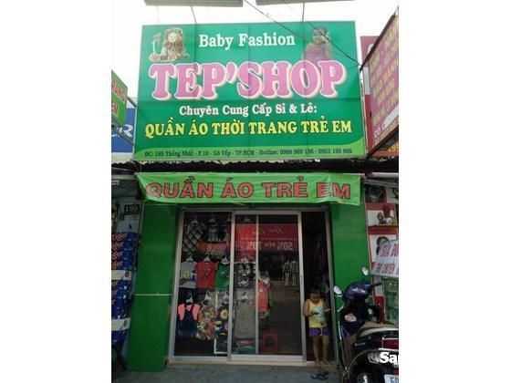 cần sang shop quần áo trẻ em