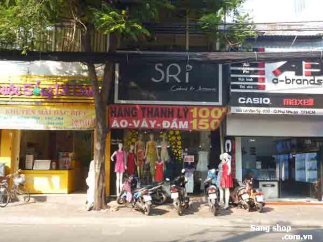 Cần sang shop thời trang Nam đường Lê Văn Sỹ