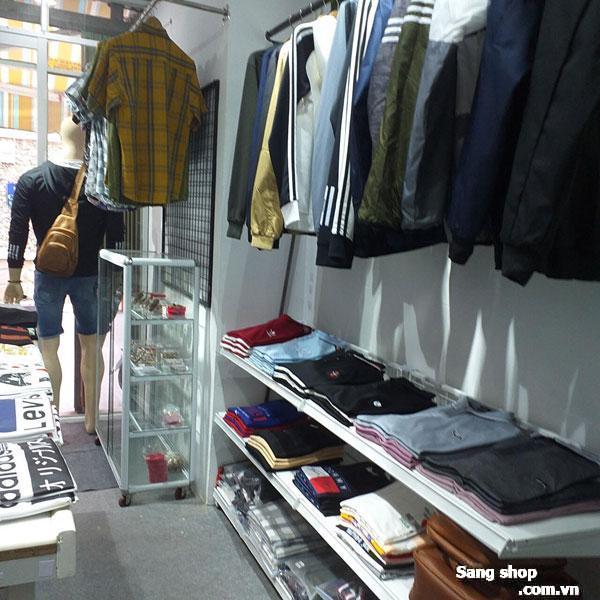 Sang mặt bằng shop quần áo nam quận Tân Bình