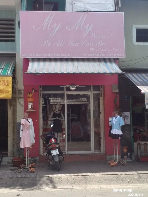 Sang shop thời trang Nữ Quận 11