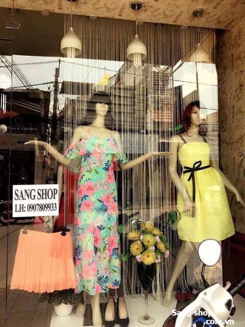Sang shop thời trang nữ quận 7
