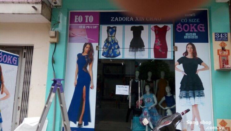 Mình cần sang nhượng shop thời trang nữ tại 343 Lũy Bán Bích, Tân Phú, HCM
