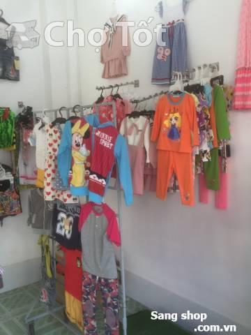 Mình cần sang shop quần áo trẻ em
