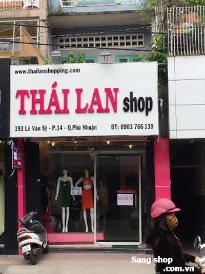 Sang shop thời trang mặt tiền trung tâm quận Phú Nhuận