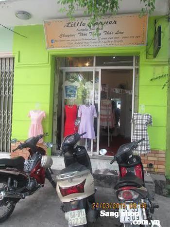 Sang  Mặt bằng shop quần áo nữ Quận Bình Thạnh