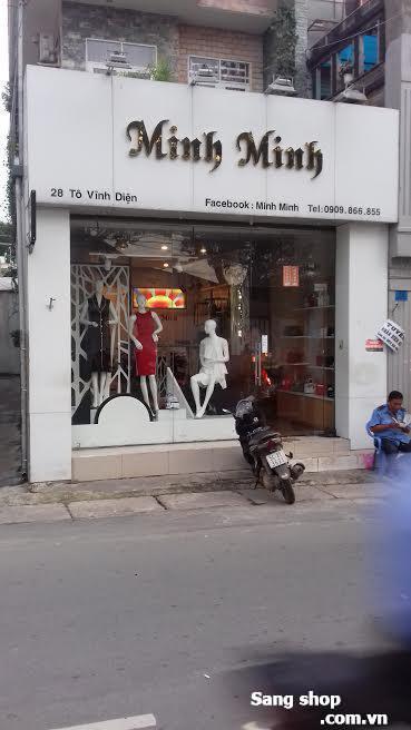 Sang 2 shop thời trang quận Thủ Đức