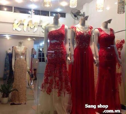 Sang cửa hàng áo cưới, dạ hội thiết kế cao cấp