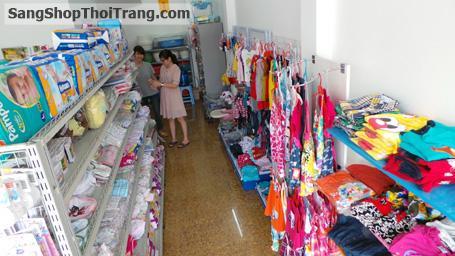Sang cửa hàng quần áo Trẻ em Xuất Khẩu